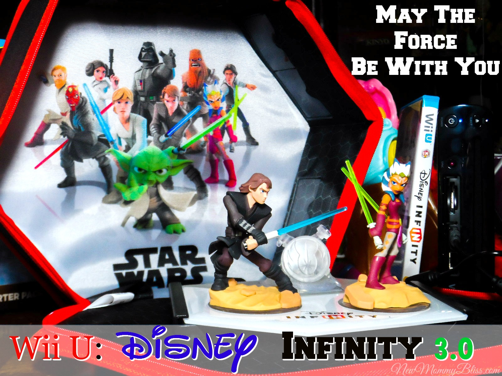 how to use disney infinity wii u