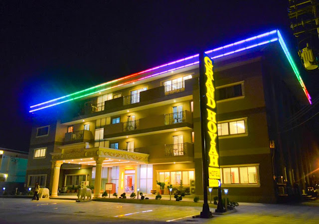 GRAND HOYAH HOTEL Subic at Night
