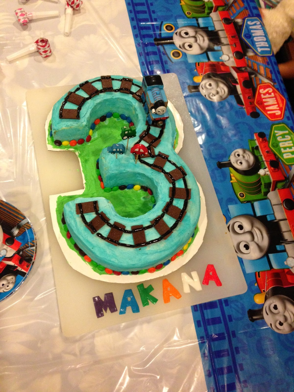 Party Accessories*: Thomas the Train birthday party