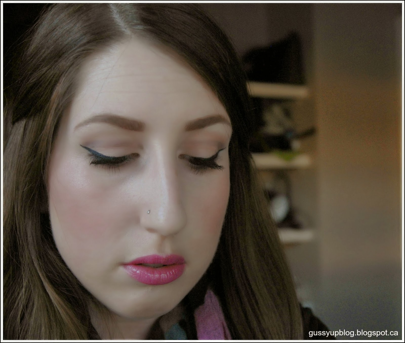MAC Prep+Prime Highlighter, Radiant Rose, Review and Swatches  Bonus: Spring Makeup Look