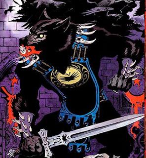 Imagen de Margrave en el libro de los Señores de las sombras