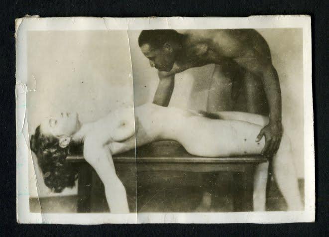 Bare bottom clip spanking