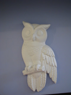 Thrifted Owls {rainonatinroof.com} #owl #thrift #makeover