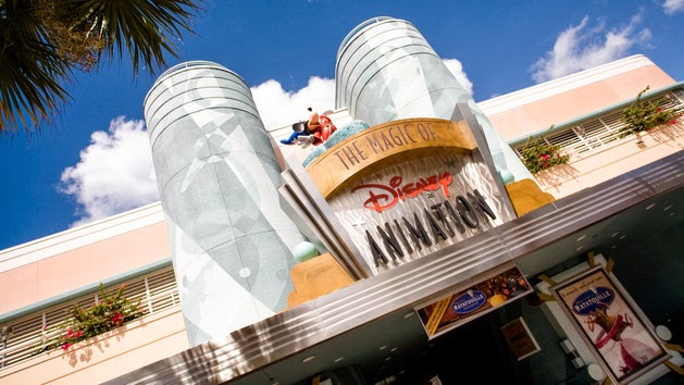 A picture of the Magic of Disney Animation exhibit at Disney's Hollywood Studios