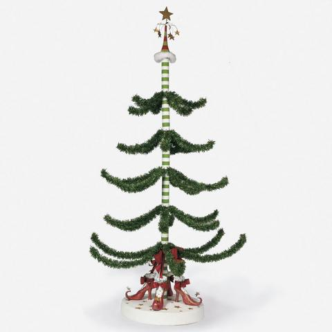 I was very lucky to be able to purchase the tree at the end of the holiday.  It has been quite a conversation piece and something that a lot of friends  look ... - The Christmas Guy: Christmas Krinkles: The First Tree