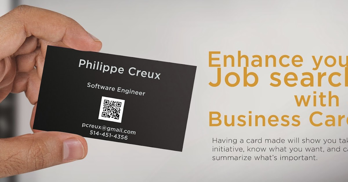graphita: Business Cards for job seekers
