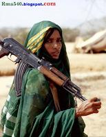 ак-47 и хиджаб