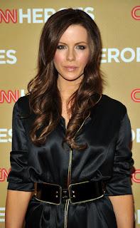 Long Dark Brown Wavy Hairstyle