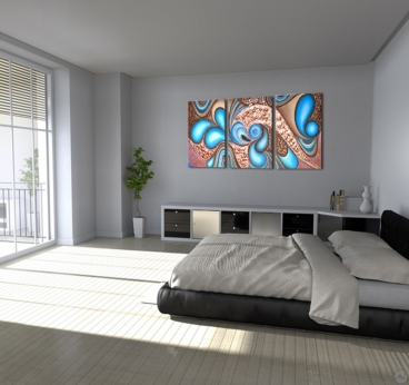 Artwall and co vente tableau design d coration maison - Peinture design salon ...