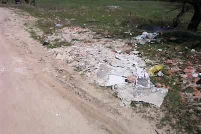 Снимки боклуци село Баня