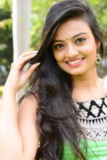 Actress Nikitha Narayan Pictures in Salwar Kameez at Mellagaa Thattindi Manasu Talupu Press Meet   (5)
