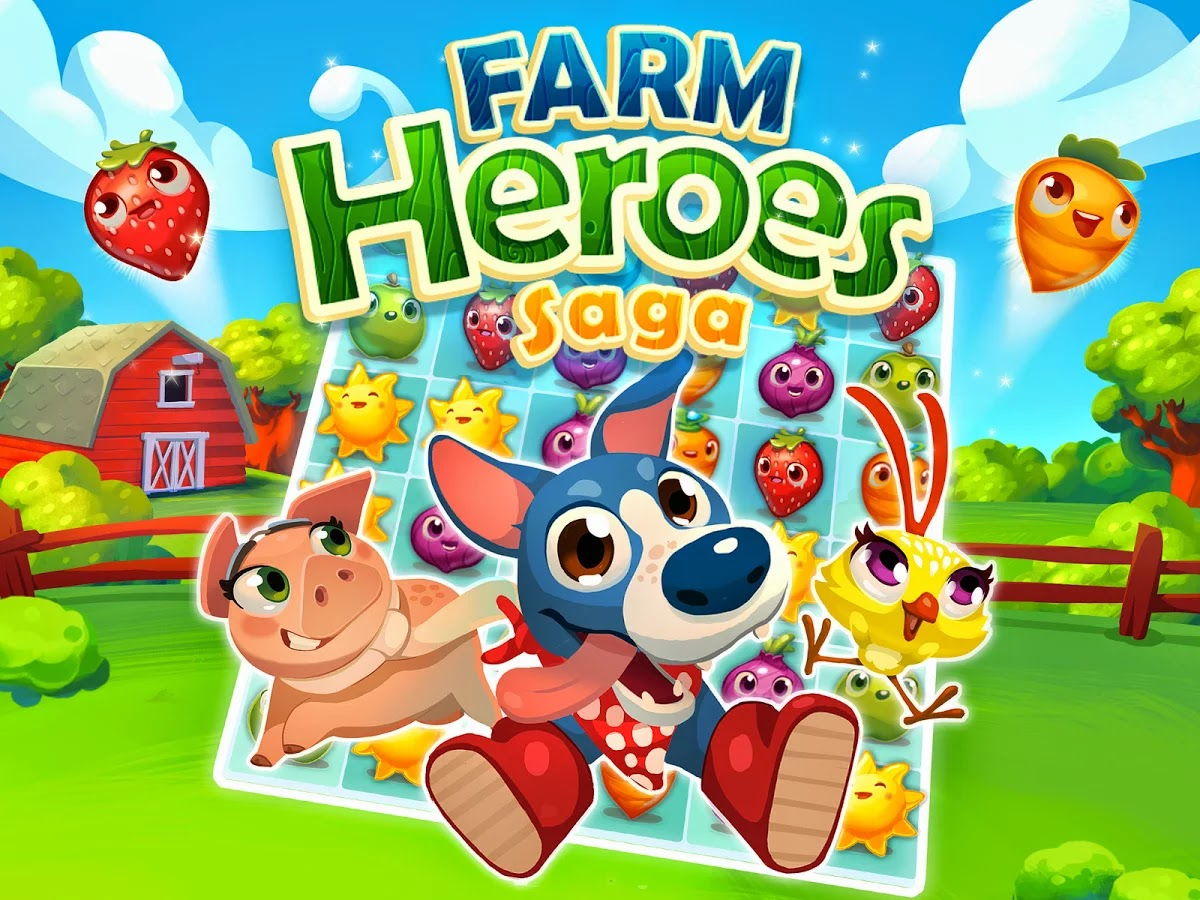 Farm Heroes Saga v2.11.8 Mod [Unlimited Lives & Boosters Free]