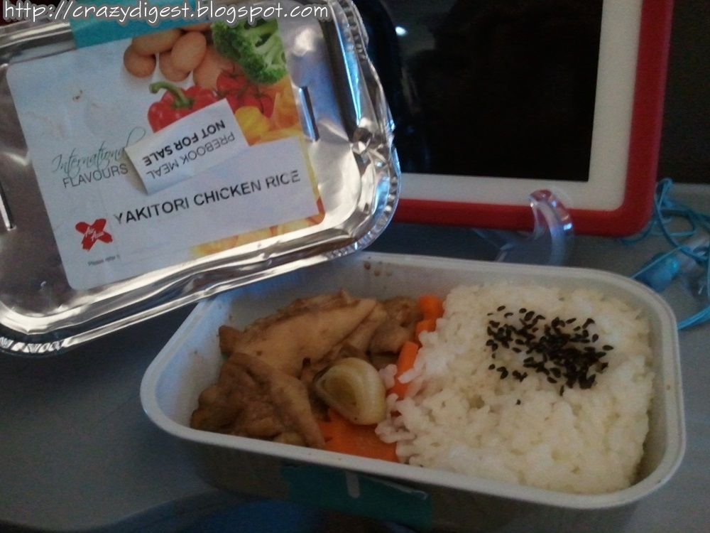 Crazy digest food on airasia for Airasia japanese cuisine