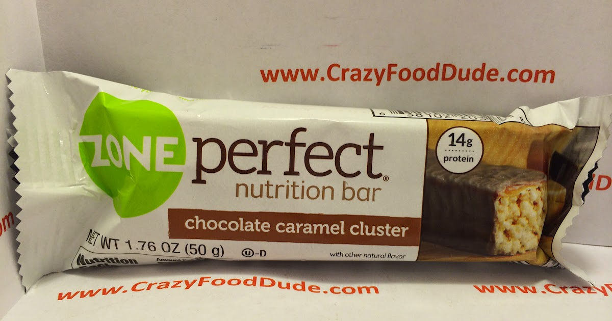 Crazy food dude review zone perfect chocolate caramel for Food bar t zone