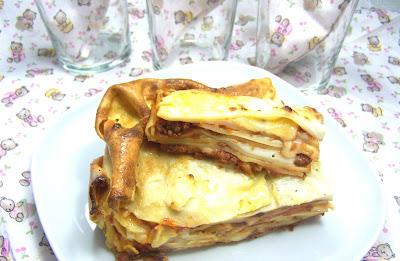 timballo di lasagne al forno