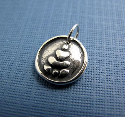 beth hemmila hint jewelry sterling silver charm buddha yoga