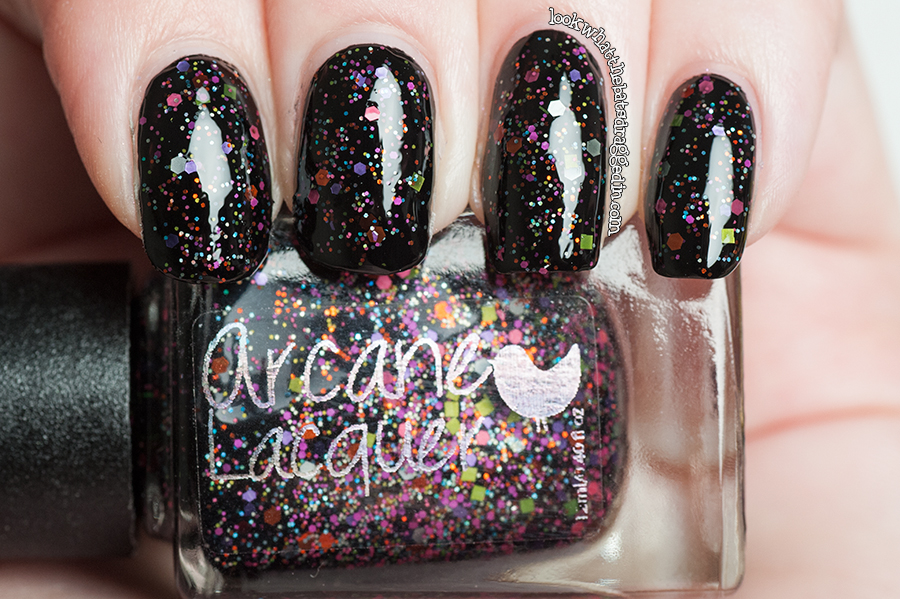 Arcane Lacquer What's In-die Box Allhallows Eve swatch