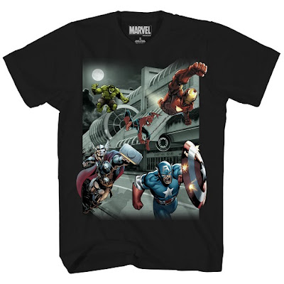 "San Diego Comic-Con 2015 Exclusive Marvel's The Avengers ""Convention Hall Invasion"" T-Shirt by Stylin Online"