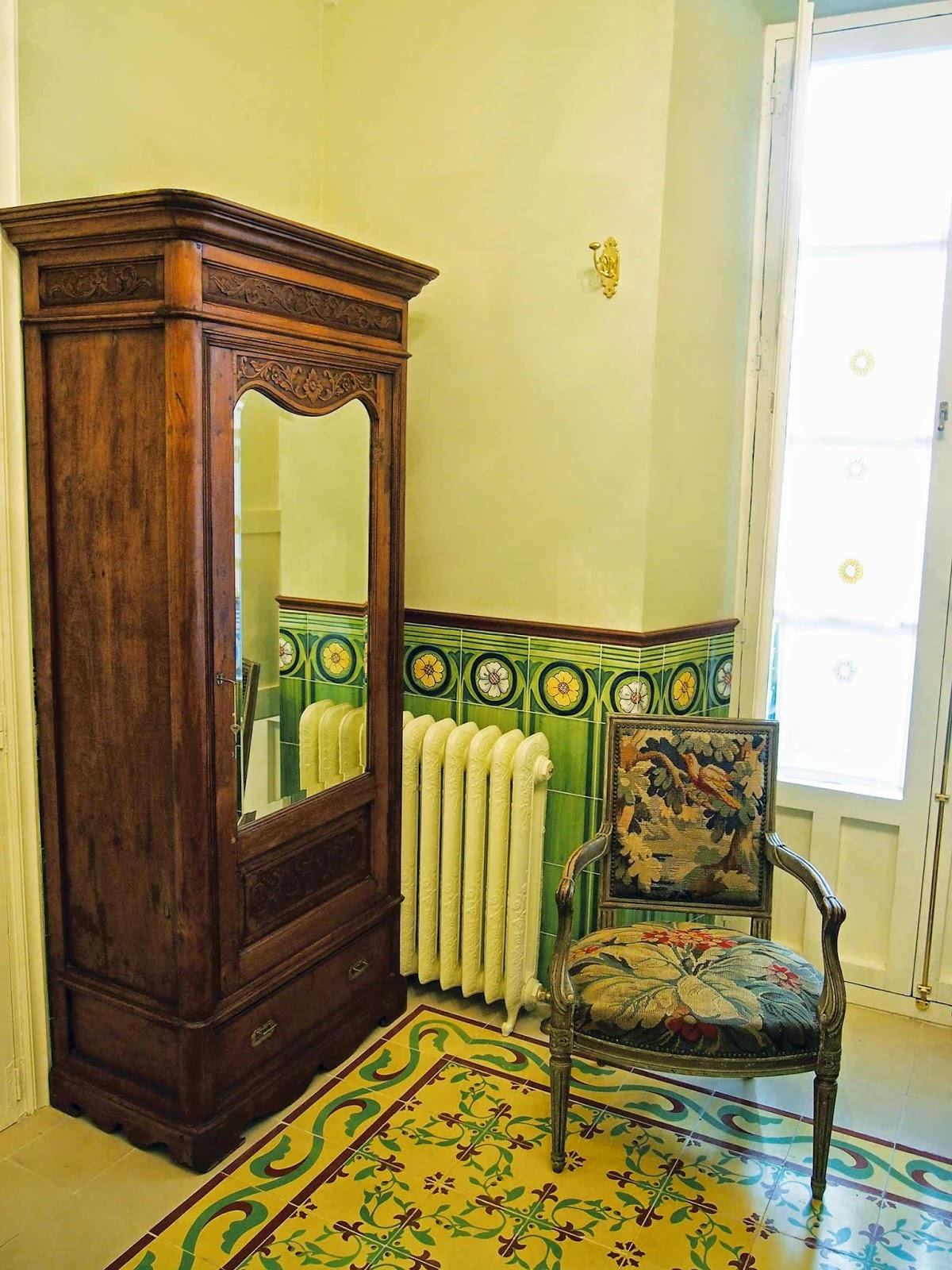 Decoracion De Baños Tradicionales: Decoración de Casas Tradicionales: Paneles de Azulejos en baños