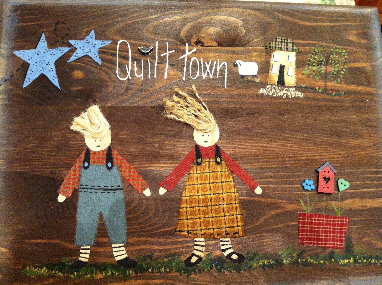 Quilt town