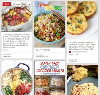 dinner ideas pinterest board #clever_nest #meal_plan