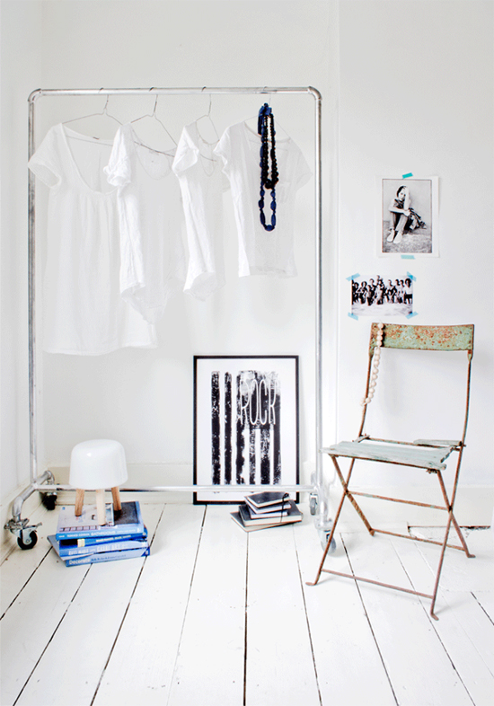 life as a moodboard tendency clothes rail. Black Bedroom Furniture Sets. Home Design Ideas