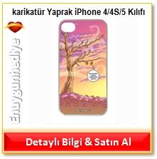 Erdil Yaşaroğlu Yaprak iPhone 4/4S/5 Kılıfı