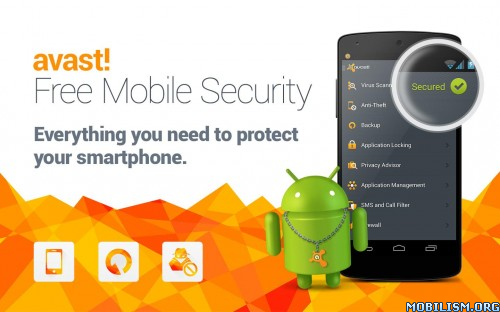 avast! Mobile Security & Antivirus v3.0.7550 APK Premium Patched
