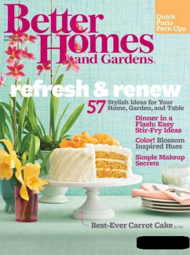 Better Homes and Gardens Magazine March 2013 Download Books Online