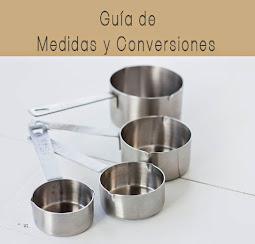 GUÍA DE MEDIAS Y CONVERSIONES