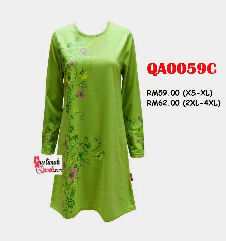 T-Shirt-Muslimah-Qaseh-QA0059C