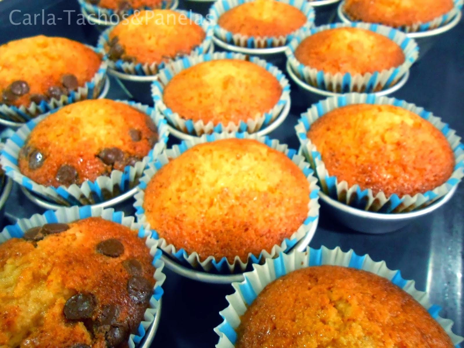 receita de queques delícia de laranja