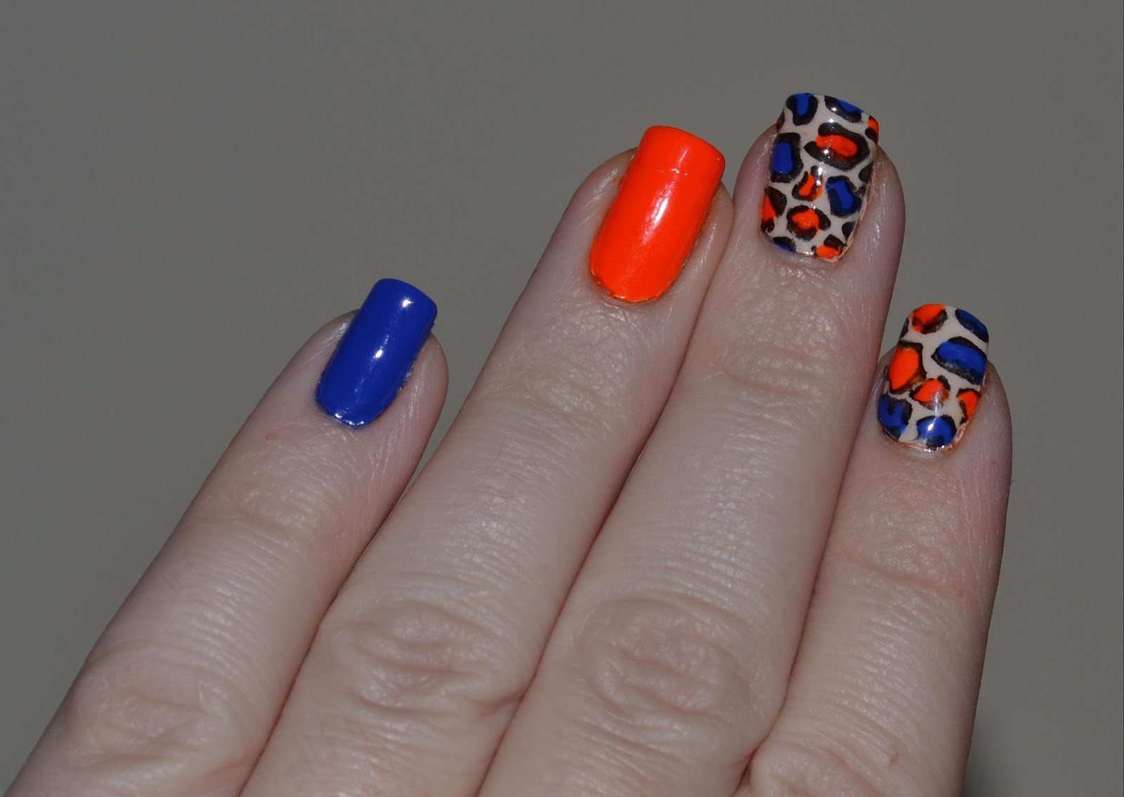 Florida Gator Nails Uf Vs Fau Partly Cloudy With A Chance Of Lacquer