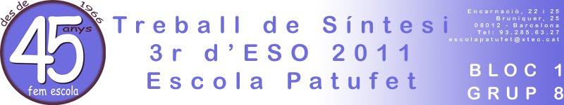 TS 3r d'ESO 1011 Bloc 1 - Grup 8