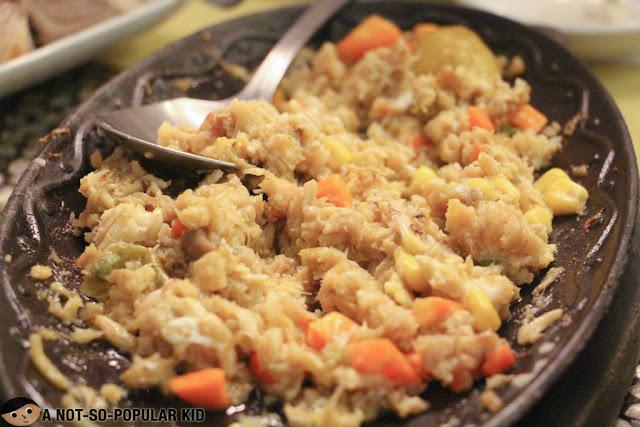 Sizzling Crabmeat of Ponsyon, Iloilo
