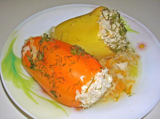 фаршированный перец, рецепт