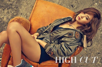 Yuri SNSD Girls' Generation High Cut Korea Magazine Vol. 158