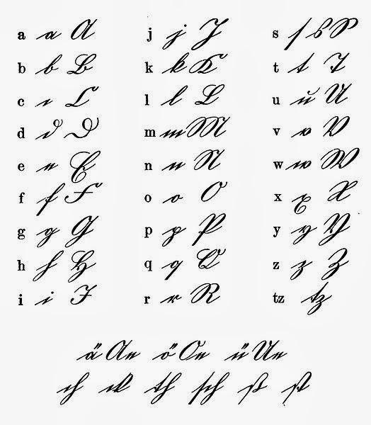 German Handwriting