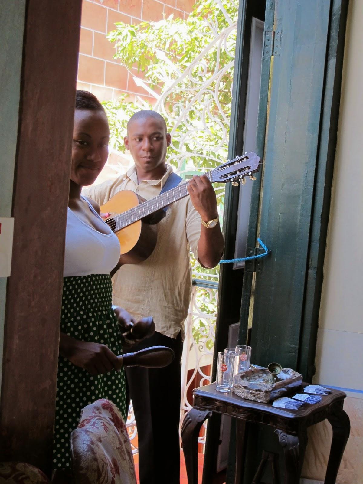 cantores em Habana Cuba