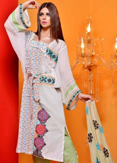 Summer Lawn Dresses By Hadiqa Kiani