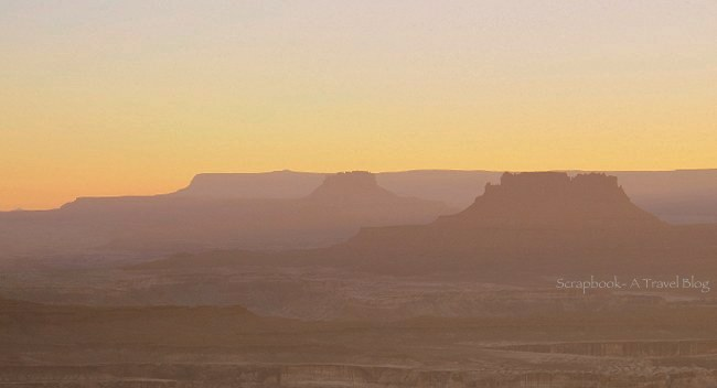Sunset at Canyonlands National Park, Utah