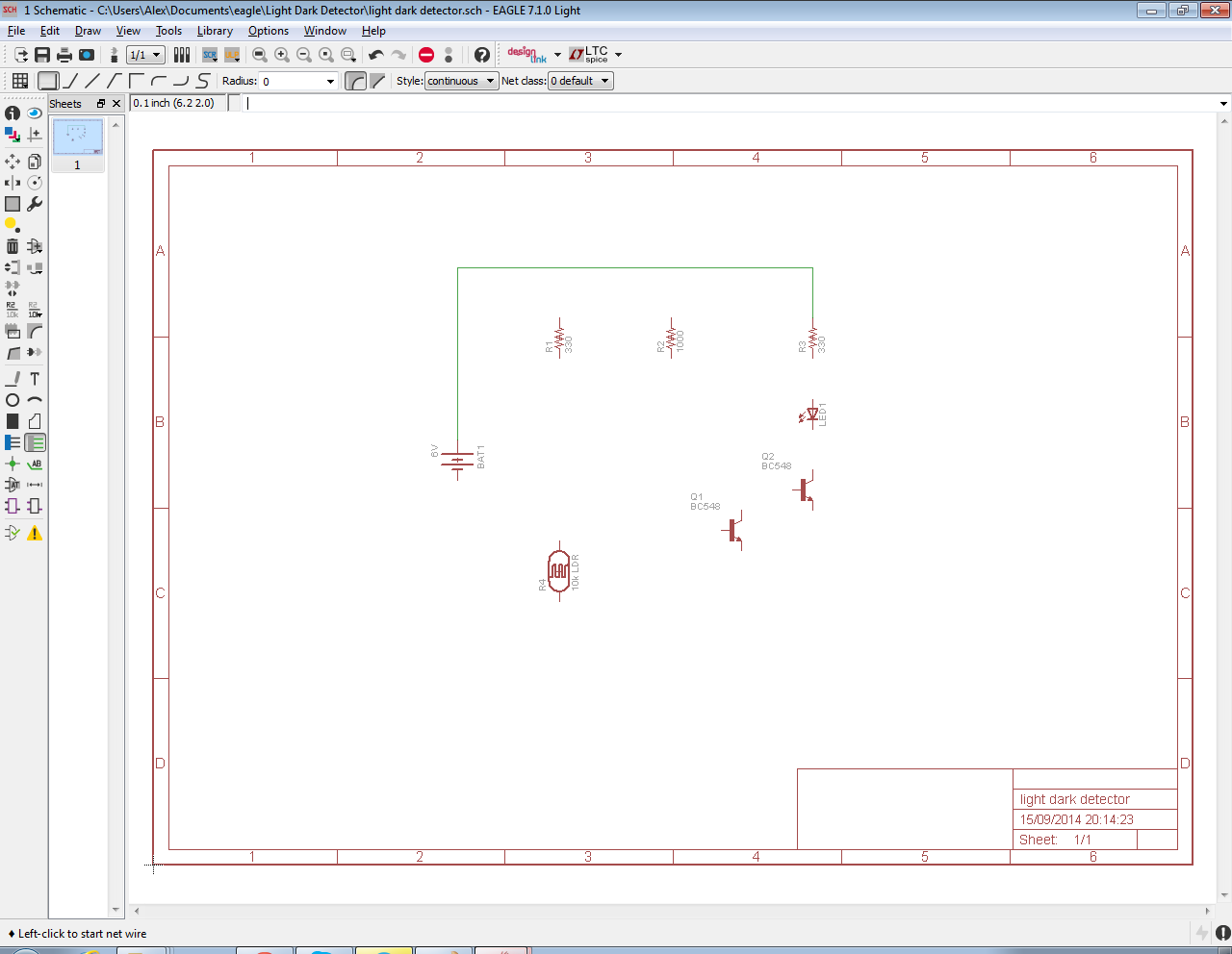 The Answer Is 42 How To Input A Schematic Diagram Using Cadsofts Software Draw Circuit There Are No Rules Thoughas Long As All Of Components Connected Together Per Sketch Our And Pcb Will Work Correctly
