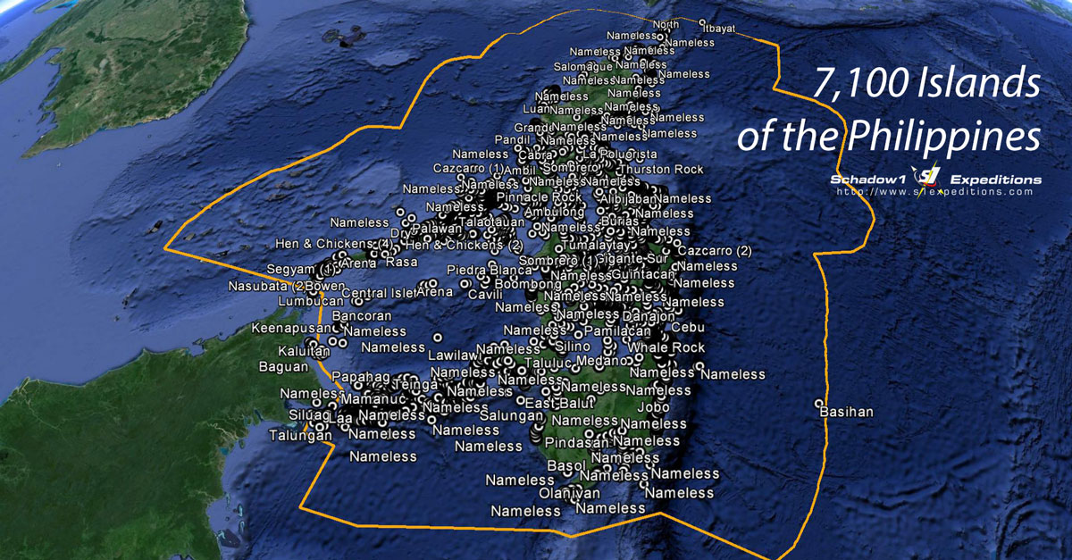 The 7100 Islands of the Philippines : Schadow1 Expeditions | A ...