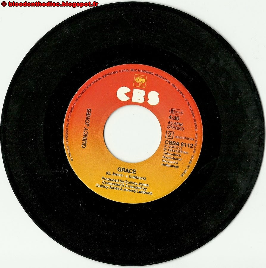 We Are The World 45T B Side
