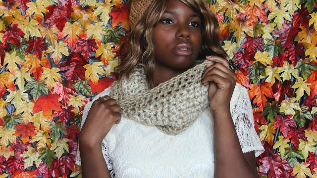 DIY: Two Strand Crochet Cowl / Free Crochet Pattern!