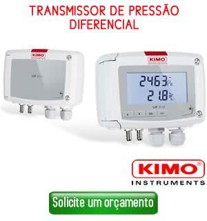 Transmissor de Pressão diferencial Kimo