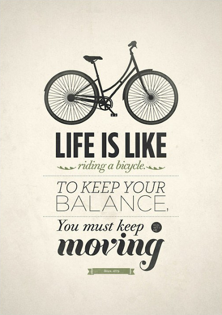 Keep moving on... In every way!