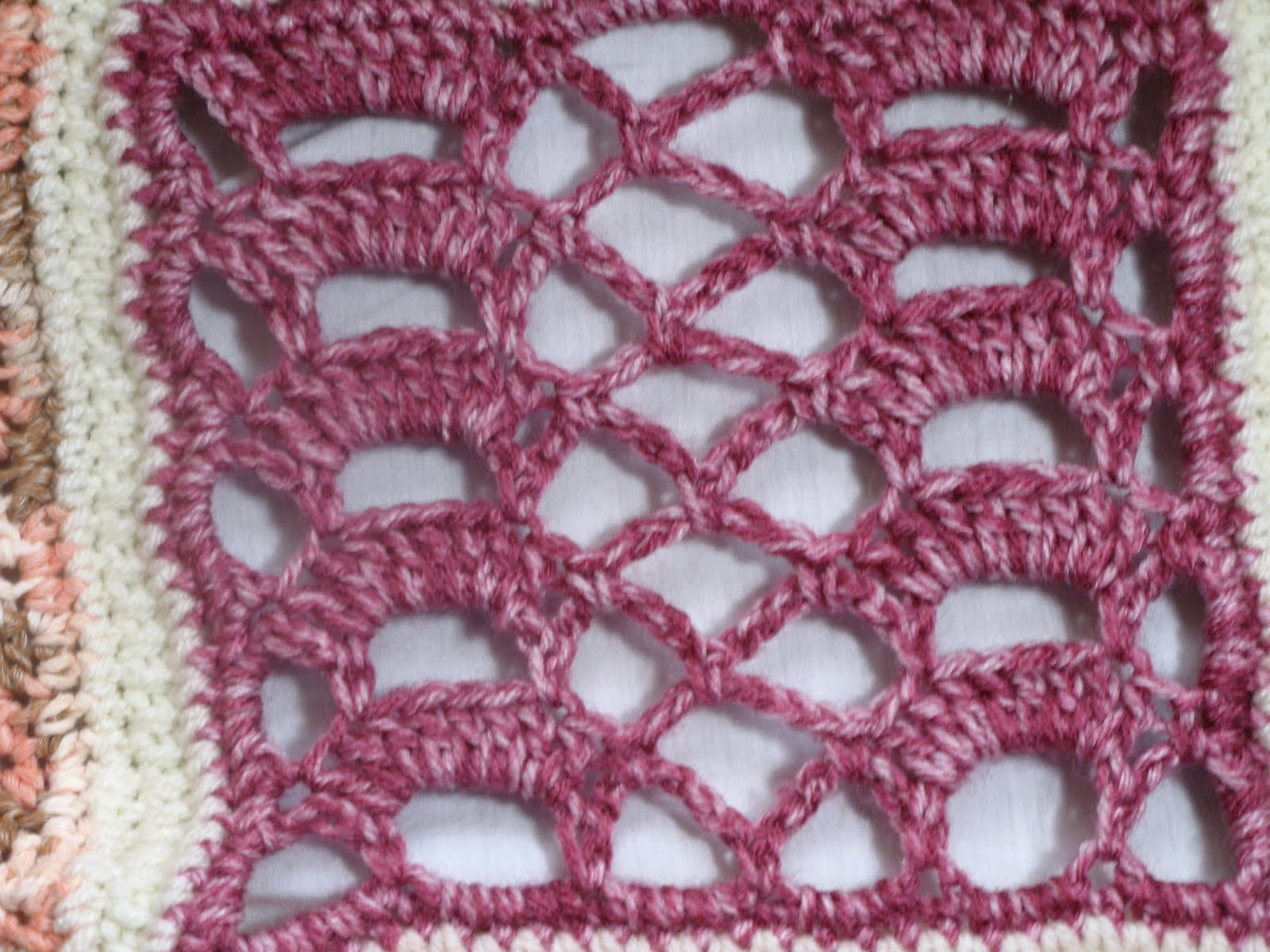 How to Crochet - Tunisian crochet stitch or Afghan stitch