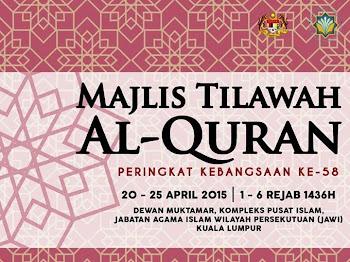 Keputusan Rasmi Majlis Tilawah Al-Quran Peringkat Kebangsaan 2015