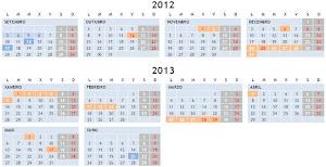Calendario Escolar-2012-13